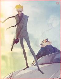 Secret Agent Calvin Hobbes by =CoranKizerStone