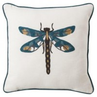 "Threshold™ Dragonfly Toss Pillow (18x18"") : Target"