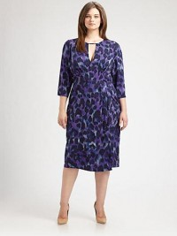 Anna Scholz, Salon Z - Printed Keyhole Dress - Saks.com