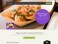 Restaurant Wordpress Theme by Sunil Joshi