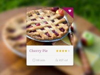 Recipe Widget by Andrey S. Rodrigues ?