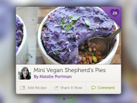 Recipe Widget by Creative Goat