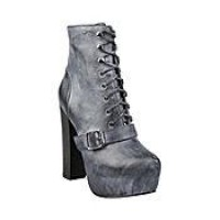 CARNABY STONE LEATHER women's bootie high platform - Steve Madden