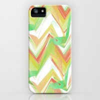 Summer Party Chevron iPhone & iPod Case by Ally Coxon | Society6