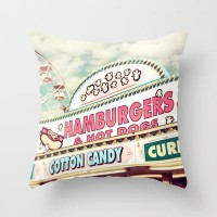 Carnival Throw Pillow by Sylvia Cook Photography | Society6