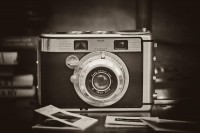 Kodak Signet 40 Film Camera from the Past - Monotone | Flickr - Photo Sharing!