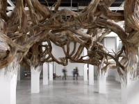 Architectural Columns at the Palais de Tokyo Explode into Organic Forms | Colossal