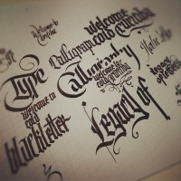 Daily Calligraphy on Typography Served