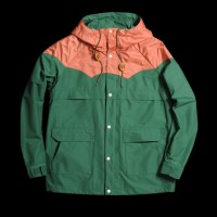 UNIONMADE GOODS - Beams+ - 1970s Mountain Parka in Green and Copper