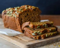 Double roasted pumpkin bread | We Heart It