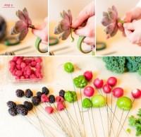 DIY Fruit And Vegetable Bouquet For A Rustic Wedding   Weddingomania