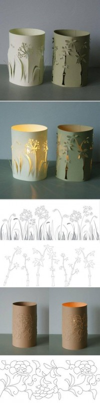 DIY Paper Candlestick Pattern DIY Projects | UsefulDIY.com