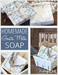 How to Make Homemade Goats Milk Soap - Finding Home