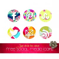 Craft A Doodle Doo: The Freebie Jubilee//Just about the Cutest Social Media Icon Set!