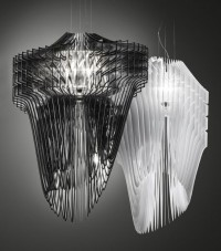 Aria and Avia lamp by Zaha Hadid for Slamp | URDesign Magazine