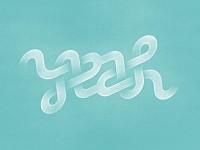 typeverything.com,YEAH AMBIGRAMby Rimantas... - Typeverything