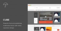 WordPress - Cube: Front-end Multimedia Publishing WP Theme | ThemeForest