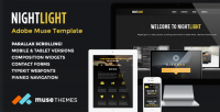 Muse Templates - NightLight | Parallax Muse Template | ThemeForest