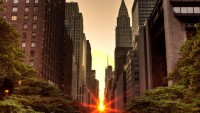 Another lovely sunset in NYC | Green Landscapes