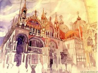 watercolor-cityscapes-by-maja-wronska-takmaj-poland-5.jpg (800×594)
