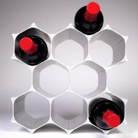 WineHive Modular Wine Rack | Fancy Crave