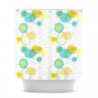 Amazon.com: Kess InHouse Nina May Vaniretro Shower Curtain, 69 by 70-Inch: Home & Kitchen