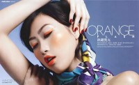 Angie Ng - The Model: Marie Claire- Orange Flash