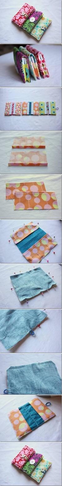 DIY Sew Business Card Holder DIY Projects | UsefulDIY.com