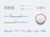 Designer First Sleek UI Kit (PSD) - Designer First