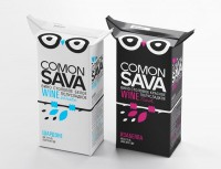 Comon Sava - The Dieline -