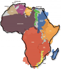 The True Size Of Africa | Information Is Beautiful