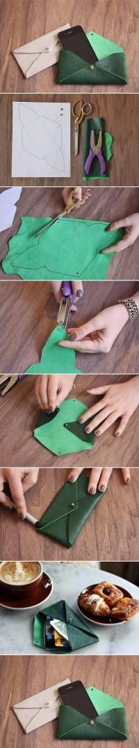 DIY Leather Envelope Case DIY Projects | UsefulDIY.com