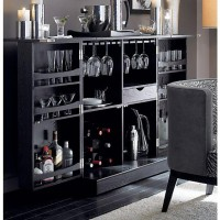 Steamer Bar Cabinet in Bar Cabinets | Crate and Barrel