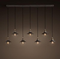 Filament Rectangle Cluster - 7 Cord | Utility Pendants | Restoration Hardware