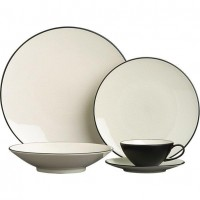 Kita 20-Piece Dinnerware Set in Dinnerware Sets | Crate and Barrel
