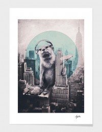 """DJ"" - Art Print - Ali Gulec 