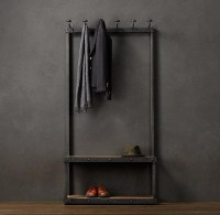 Coat Rack Bench 3' | Coat Racks | Restoration Hardware