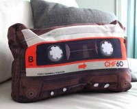 Fancy - Retro Cassette Pillow
