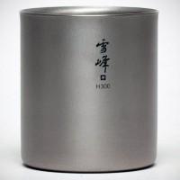Fancy - Titanium H300 Stacking Mug by Snow Peak