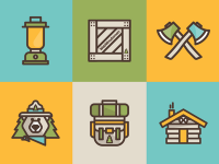 Webwoodsmen Icons by ryan weaver