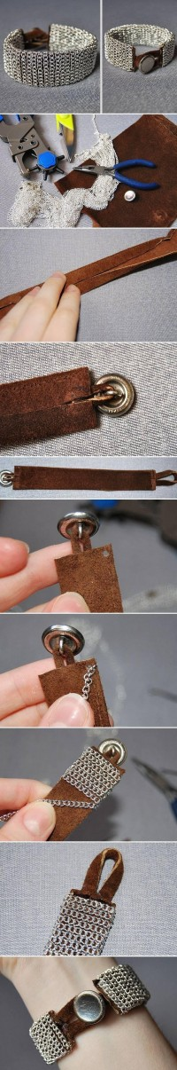DIY Easy Chain Bracelet DIY Projects | UsefulDIY.com