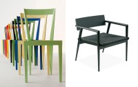 Chair designs by Gio Ponti