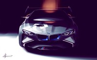 BMW Vision Gran Turismo Concept Design Sketch - Car Body Design