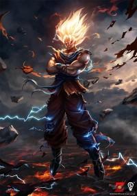 Goku by ~bpsola
