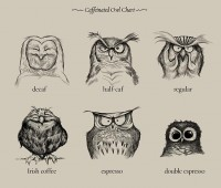 """Caffeinated Owls"" by Dave Mottram - What an ART"