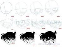 How to draw Detective Conan | Everyone Likes It!