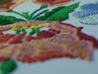 Hungarian embroideries on