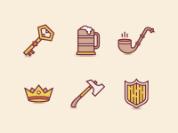 Adventurer Icons by Andrei Bacter