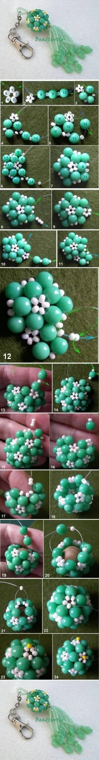 DIY Key Chain Beads Charm DIY Projects | UsefulDIY.com