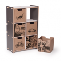 6 Cubby Storage & Bins | Sprout